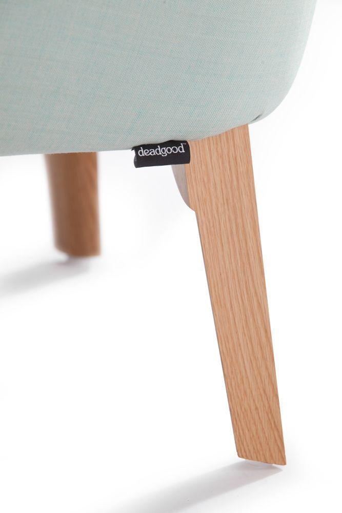 Rivet Tensile EGL20, Oak, No Buttons,Deadgood,Lounge Chairs,stool,wood