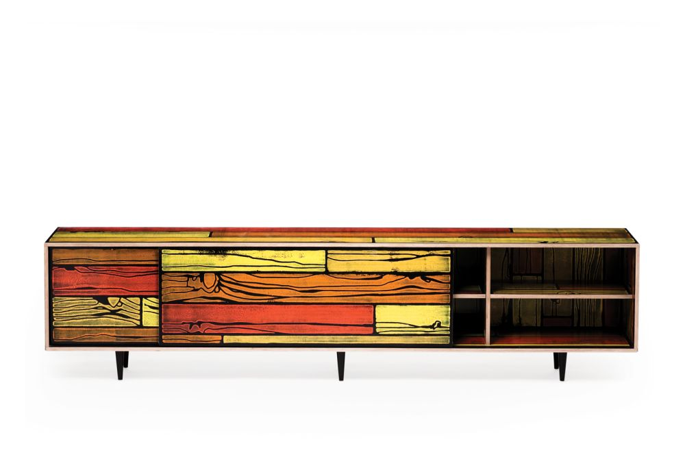 Wrongwoods Low Cabinet - L260 by Established & Sons
