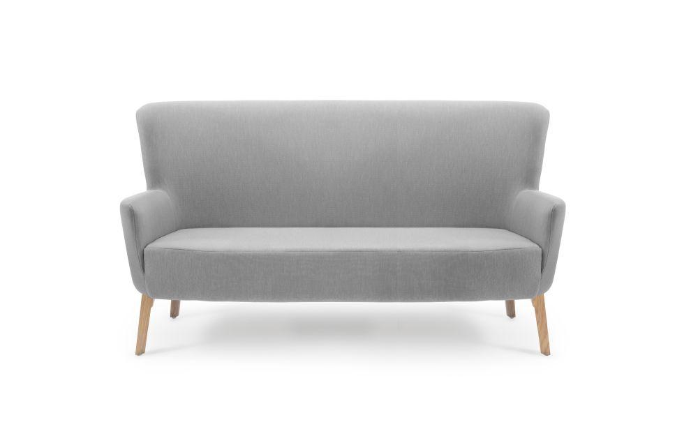 Rivet Tensile EGL20, No Buttons, Oak,Deadgood,Sofas,beige,chair,club chair,couch,furniture,loveseat