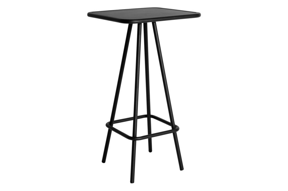 Black,Petite Friture,High Tables,bar stool,furniture,outdoor table,stool,table
