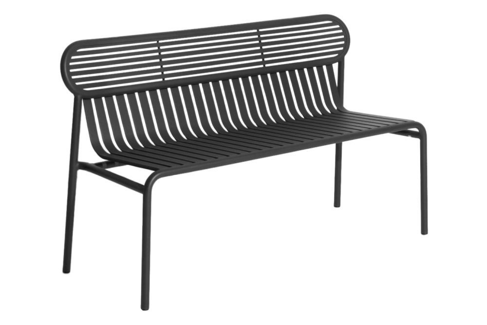 White, RAL 9016,Petite Friture,Benches,bench,chair,furniture,outdoor bench,outdoor furniture