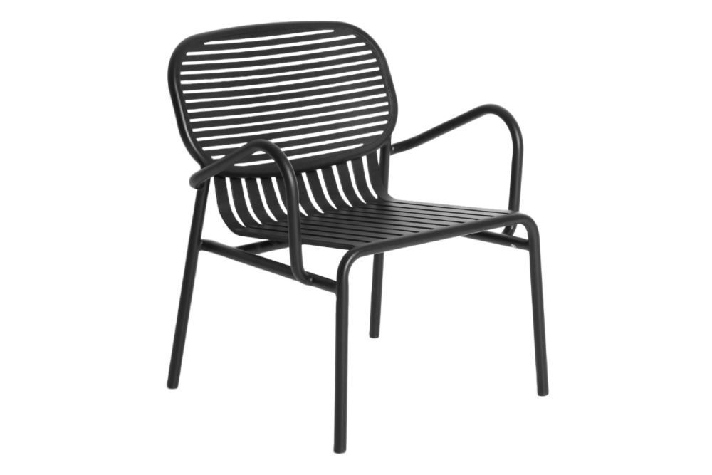 White, RAL 9016,Petite Friture,Armchairs,chair,furniture,line,monochrome,outdoor furniture