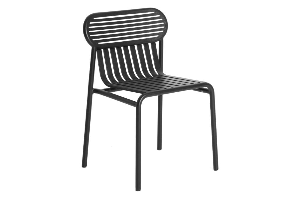 White, RAL 9016,Petite Friture,Dining Chairs,black,chair,furniture,line