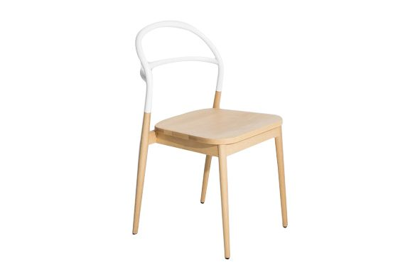 White, RAL 9016,Petite Friture,Dining Chairs,beige,chair,furniture,table