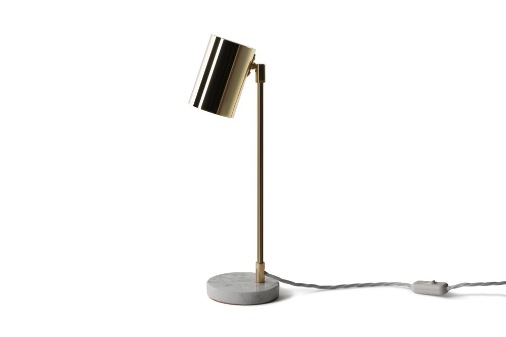 Pavilion Series Desk Lamp - Carrara,John Hollington Design,Desk Lamps,lamp,light,light fixture,lighting