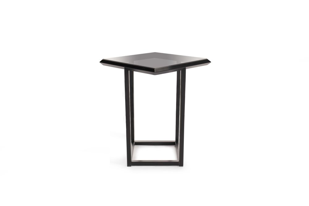 Signal White - RAL 9003, Oak Veneer,Deadgood,Coffee & Side Tables,end table,furniture,outdoor table,stool,table
