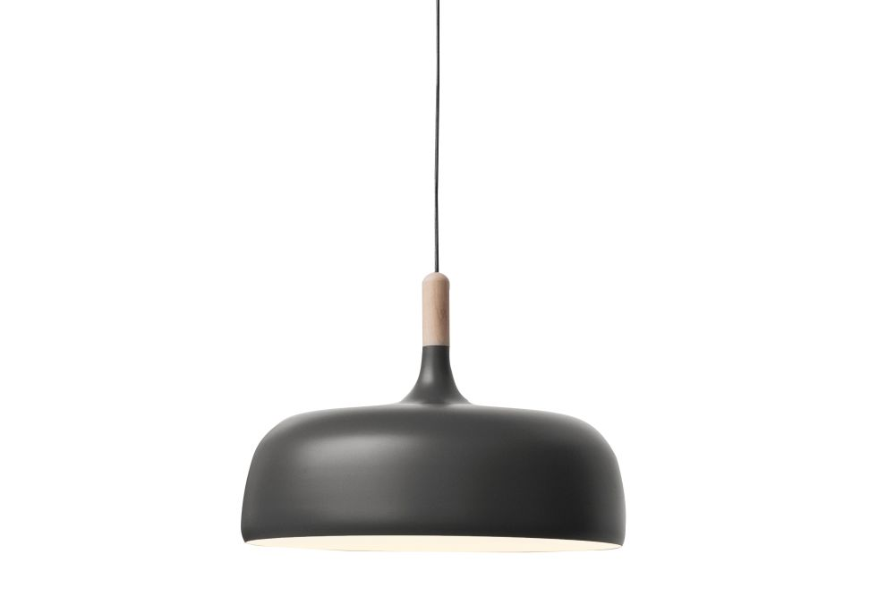 Walnut, Matt Grey,Northern,Pendant Lights,black,ceiling,lamp,light,light fixture,lighting