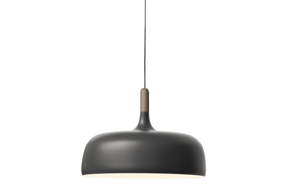 Oak, Matt Grey,Northern,Pendant Lights,black,ceiling,ceiling fixture,lamp,light,light fixture,lighting