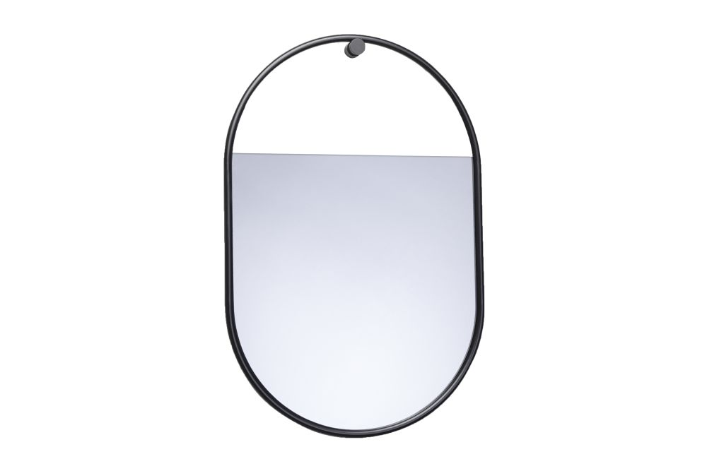 Peek Oval Wall Mirror by Northern