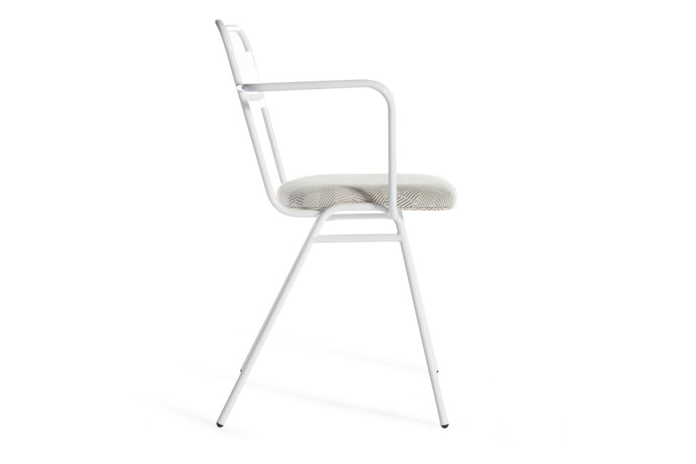 Rivet Tensile EGL20, Jet Black - RAL 9005,Deadgood,Armchairs,chair,furniture,white