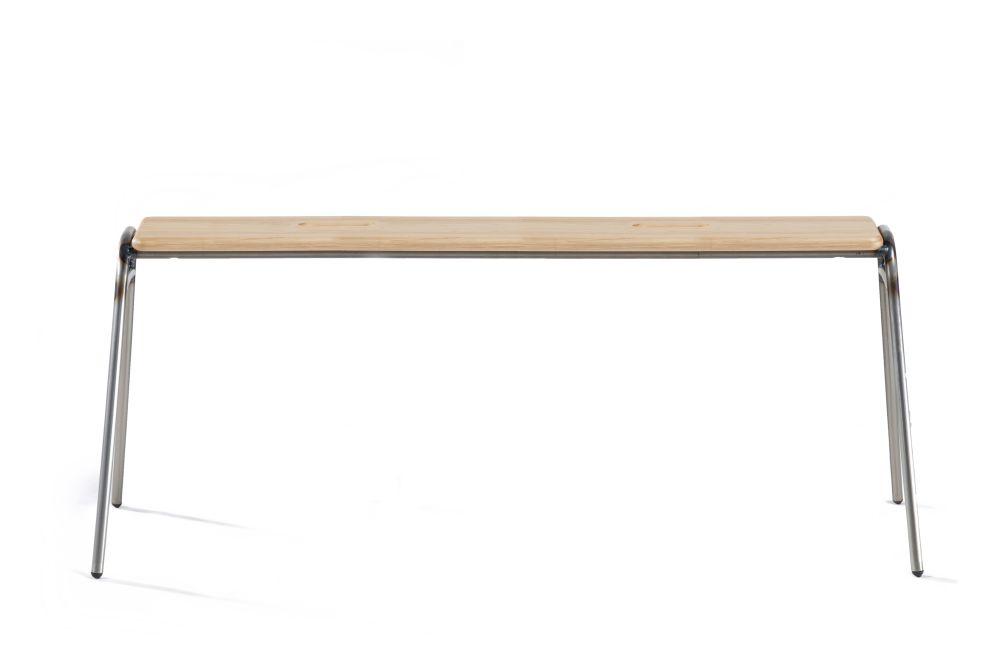 Oak, Jet Black - RAL 9005,Deadgood,Benches,desk,furniture,rectangle,table