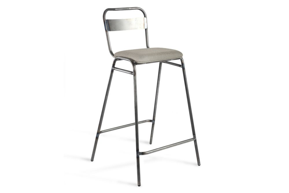 Jet Black - RAL 9005, Rivet Tensile EGL20, 67.5cm,Deadgood,Stools,bar stool,chair,furniture,stool