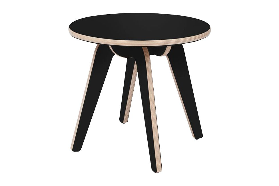 Black Formica,Deadgood,Coffee & Side Tables,bar stool,coffee table,end table,furniture,outdoor table,stool,table