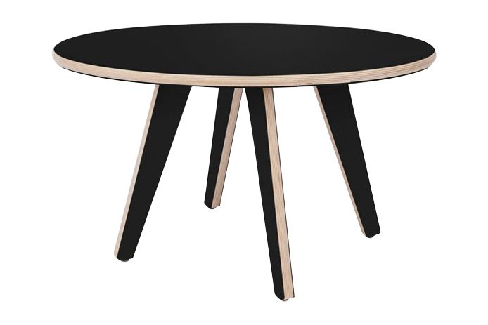 Black Formica,Deadgood,Coffee & Side Tables,coffee table,end table,furniture,outdoor table,stool,table