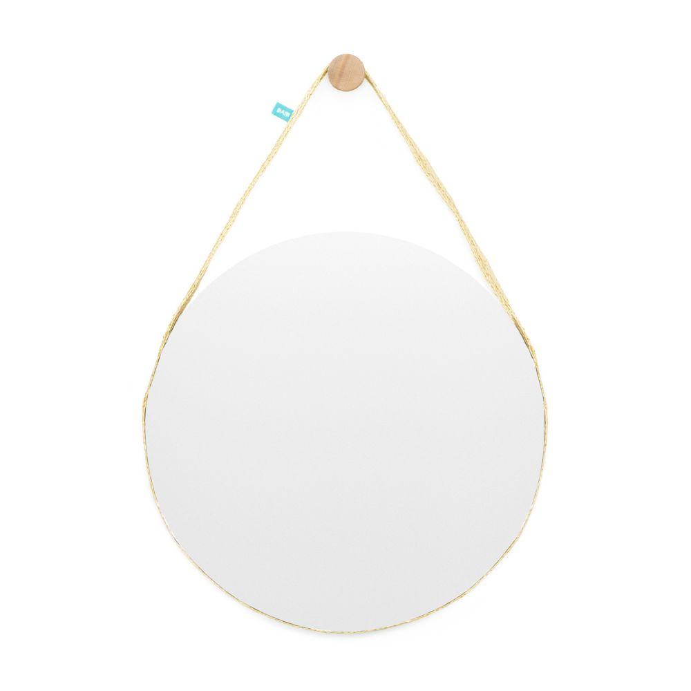 Bela Big Wall Mirror,Dam,Mirrors,beige,circle