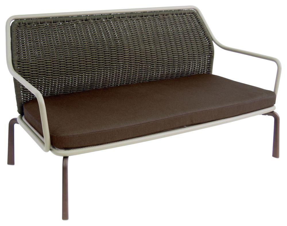 Grey / Green 37, Green 29, Indian Brown 41,EMU,Outdoor Sofas,armrest,chair,furniture,outdoor furniture