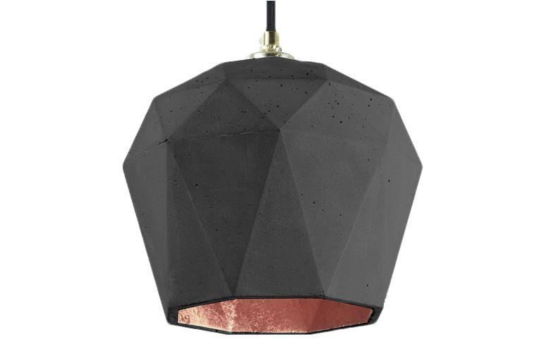 Dark Grey/Copper,GANTlights,Pendant Lights,black,brown,ceiling,lamp,light,light fixture,lighting