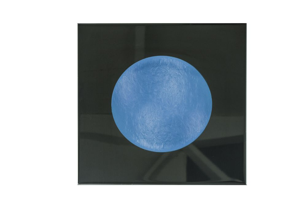 White, 40cm,in-es.artdesign,Wall Lights,blue,circle,cobalt blue,electric blue,moon,sky,sphere,turquoise