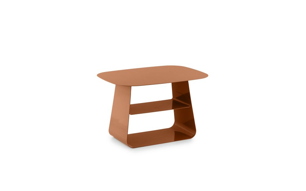 furniture,orange,outdoor table,stool,table