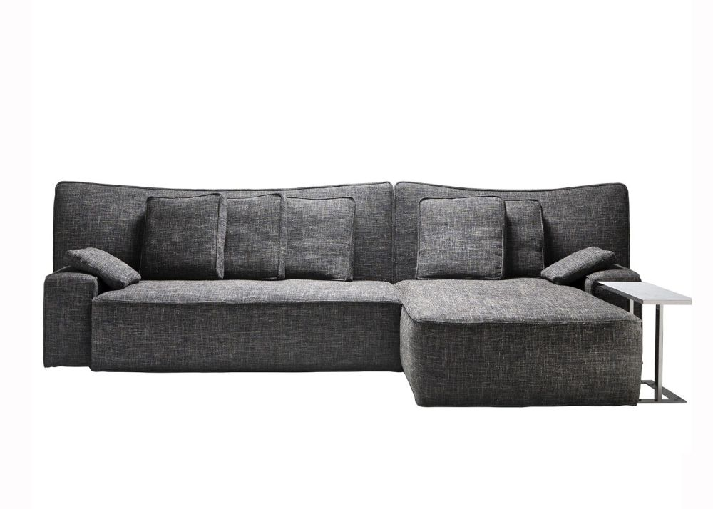 Cairo - Bianco 01, Standard Padding,Driade,Sofas,chaise longue,comfort,couch,furniture,room,sofa bed,studio couch
