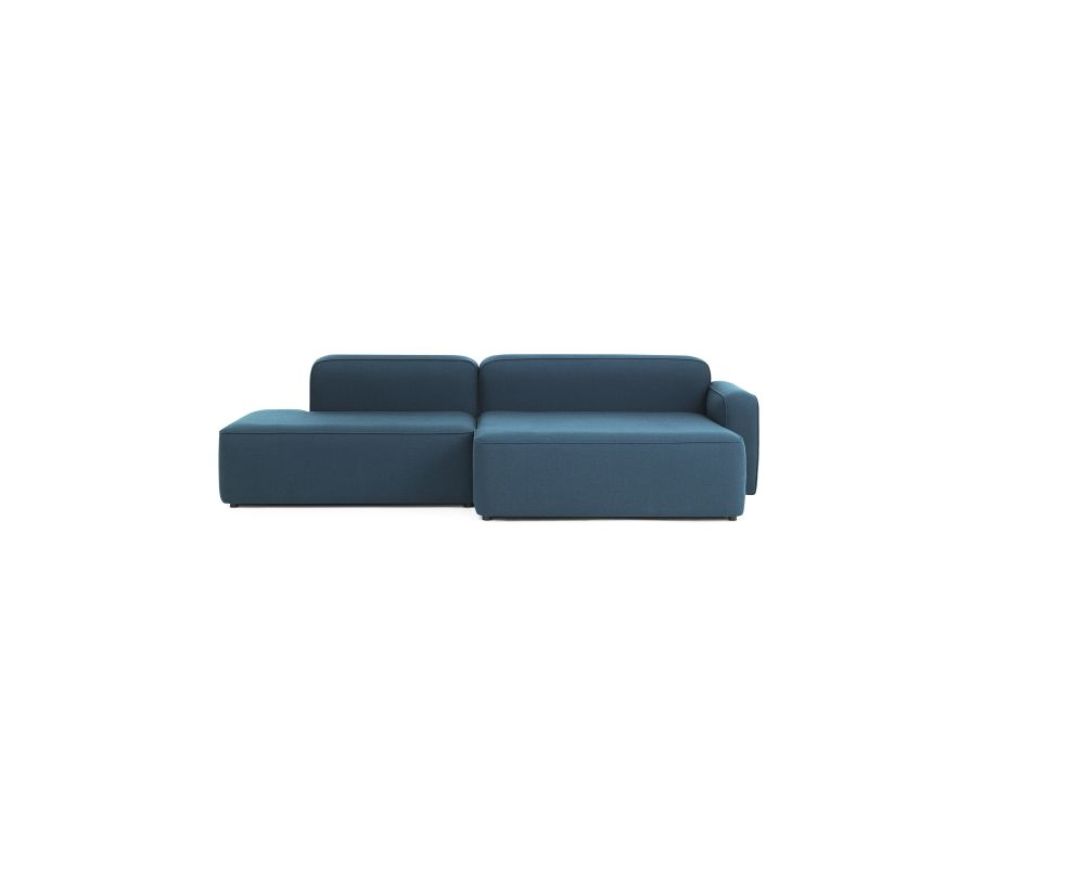 Rope Modular Sofa 410 Wide Chaise Longue Center by Normann Copenhagen