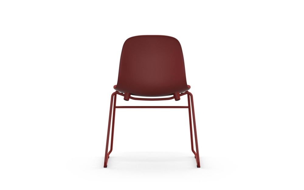 Lacquered Steel, White,Normann Copenhagen,Seating,chair,furniture