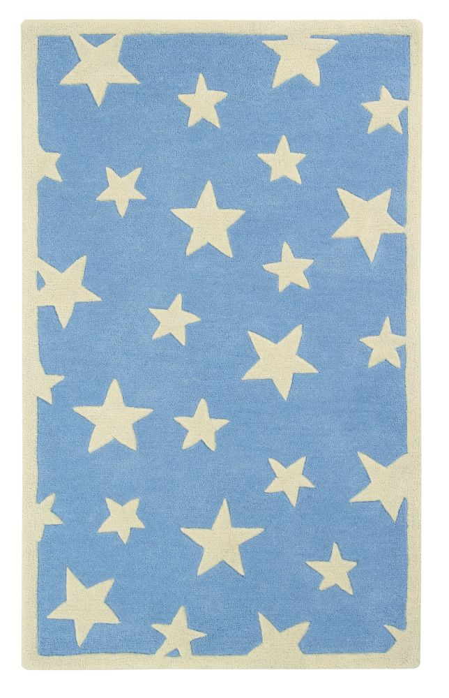 Twinkling Stars: Childrens Wool Rug,Ana & Noush,Rugs,wrapping paper