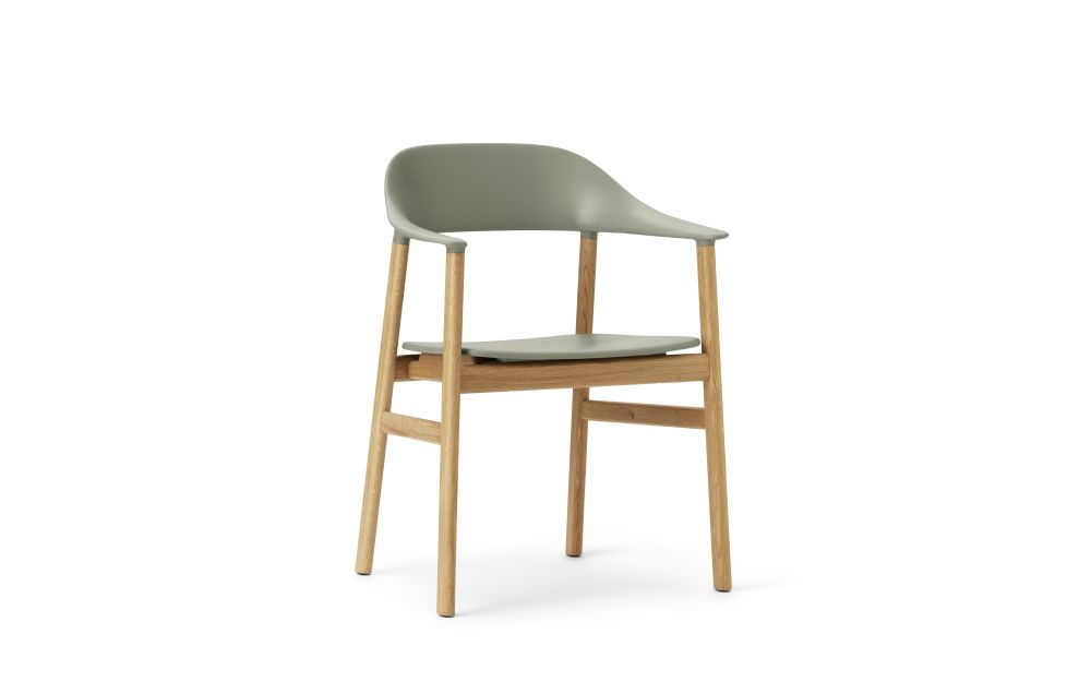 Herit Dining Chair with Armrests by Normann Copenhagen