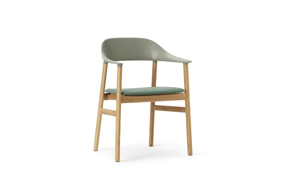 Synergy Grey, Smoked Oak,Normann Copenhagen,Dining Chairs,chair,furniture,turquoise