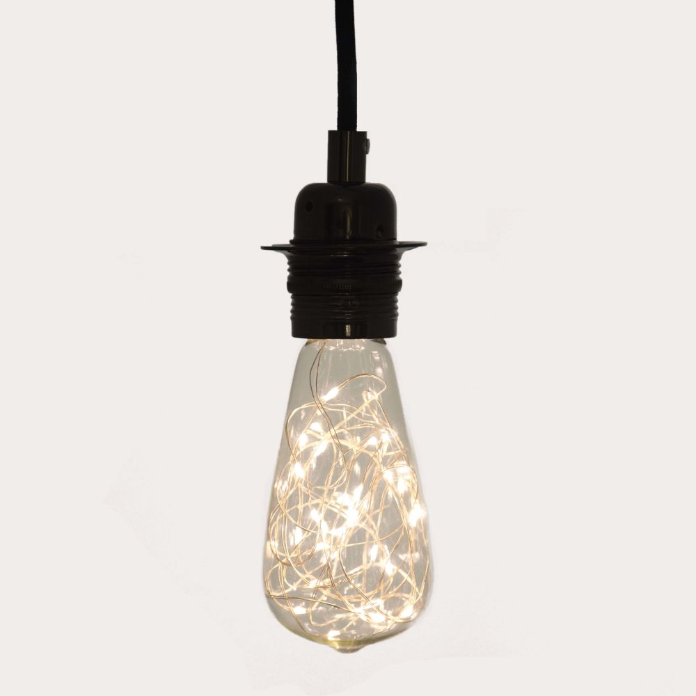 Large Teardrop Decorative LED Light Bulb by William and Watson