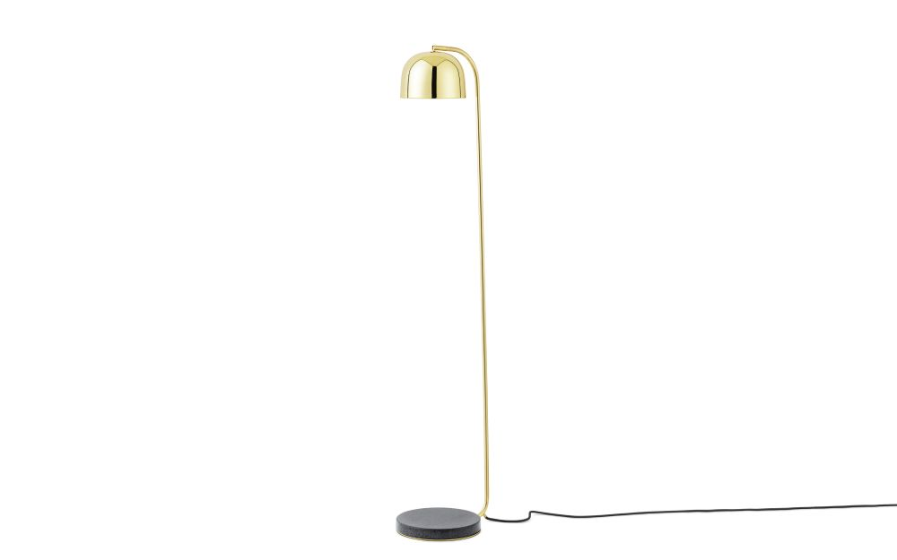 Brass,Normann Copenhagen,Floor Lamps,brass,lamp