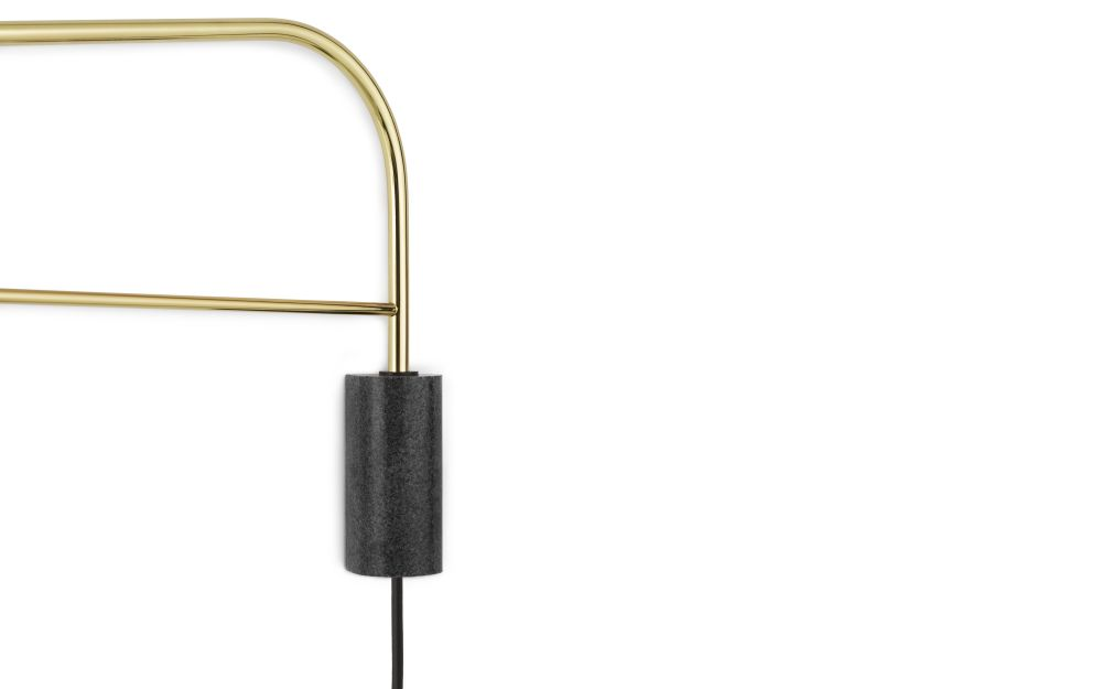 Black, 111,Normann Copenhagen,Wall Lights