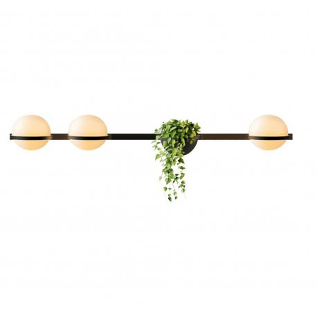Matt graphite lacquer,Vibia,Wall Lights,branch,leaf,lighting