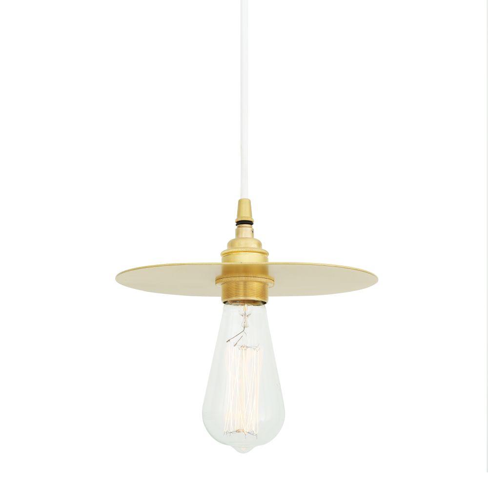 Polished Brass, Black Round Braided Fabric,Mullan Lighting  ,Pendant Lights,lamp,light fixture,lighting