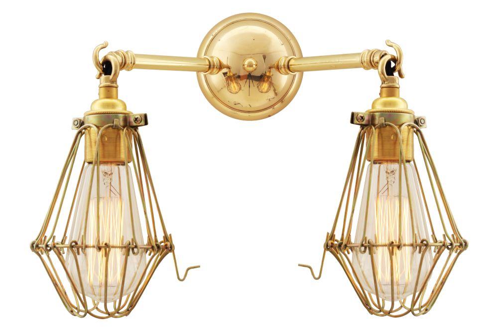 Rigo Double Wall Light by Mullan Lighting
