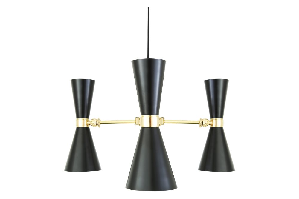 Cairo 3 Arm Chandelier by Mullan Lighting