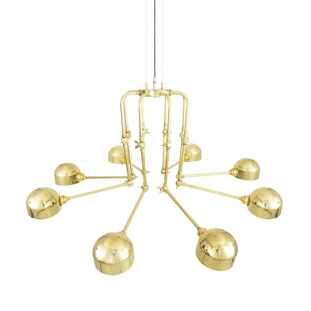 San Jose 8 Arm Chandelier by Mullan Lighting