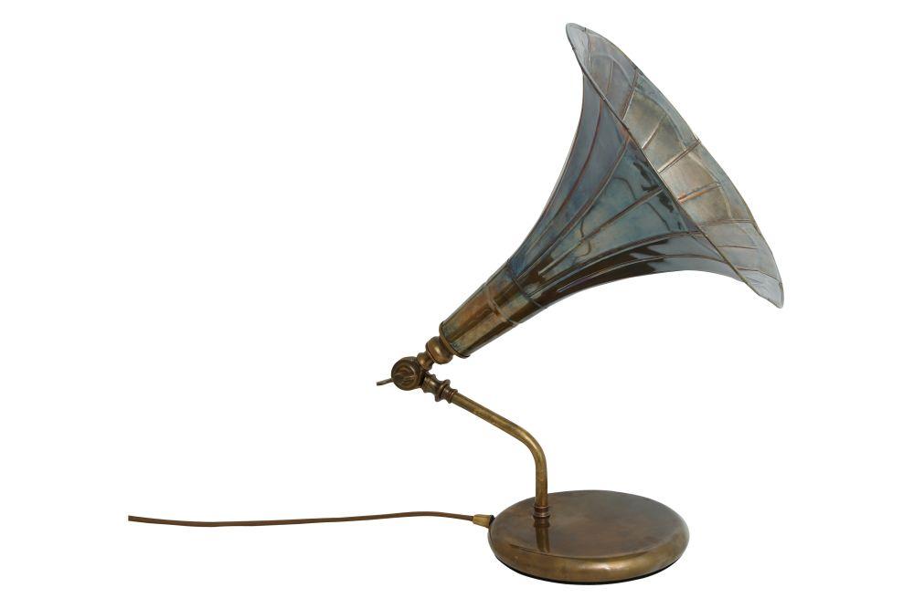 Gramophone Table Lamp by Mullan Lighting