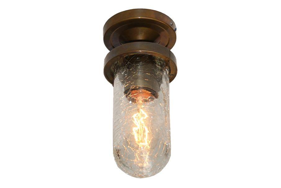 Antique Brass, Crackled Glass,Mullan Lighting  ,Ceiling Lights,ceiling,lighting
