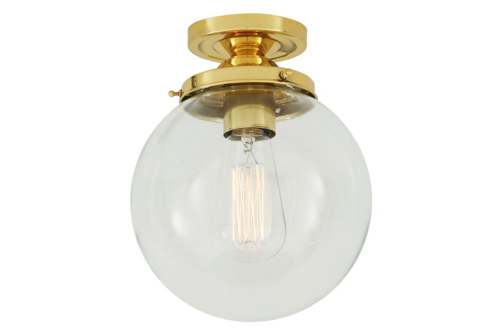Riad Globe Ceiling Light by Mullan Lighting