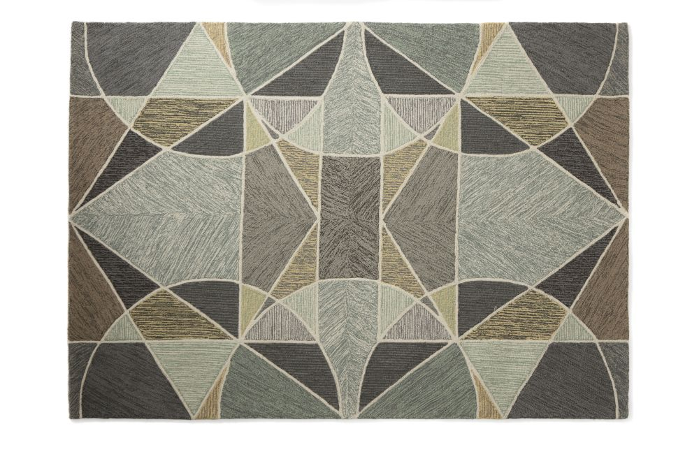 Geode Wool Rug,Lindsey Lang,Rugs,beige,brown,floor,flooring,pattern,tile