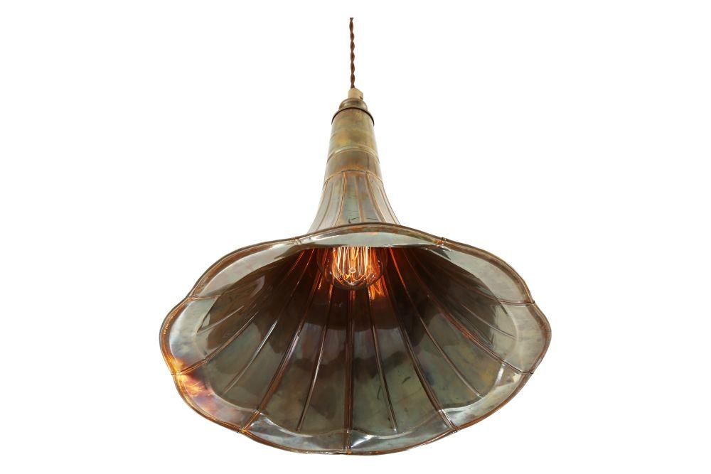 Gramophone Pendant Light by Mullan Lighting