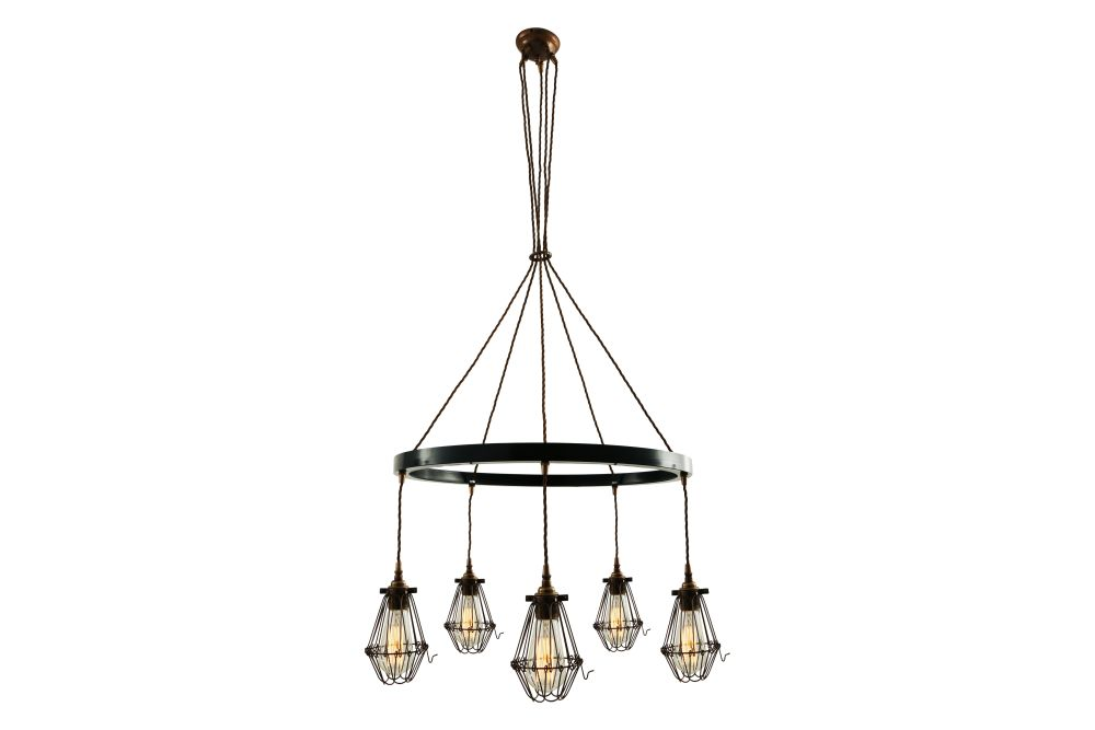 Praia 1 Tier Chandelier by Mullan Lighting
