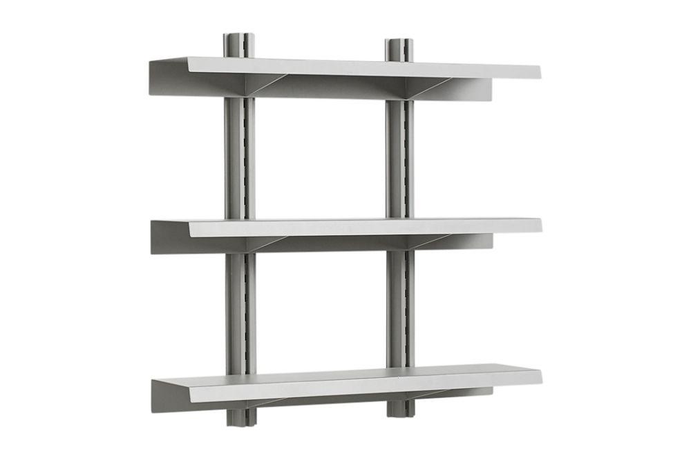 HAY Metal Sky Grey,Hay,Bookcases & Shelves,furniture,shelf,shelving,table