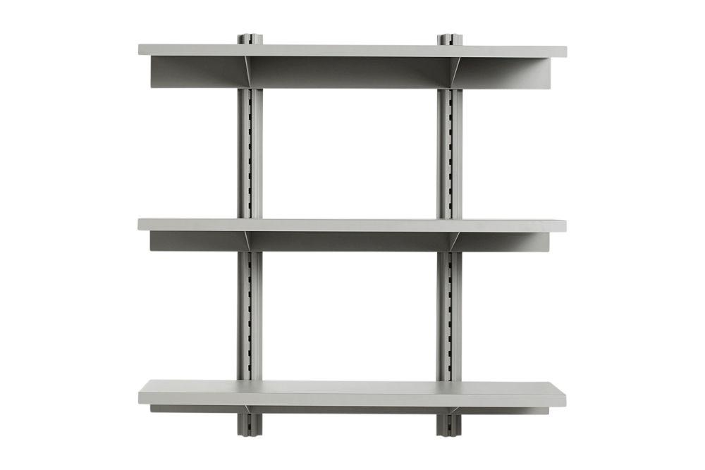 Standard Issue Shelf 3 Layer, 120 cm by Hay