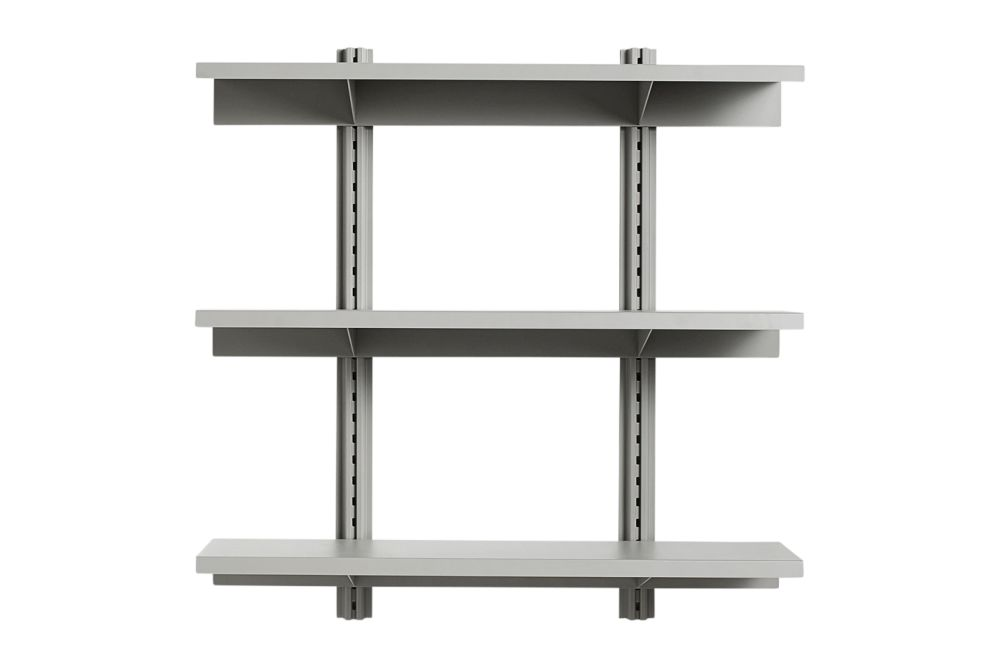 HAY Metal Sky Grey,Hay,Bookcases & Shelves,furniture,shelf,table