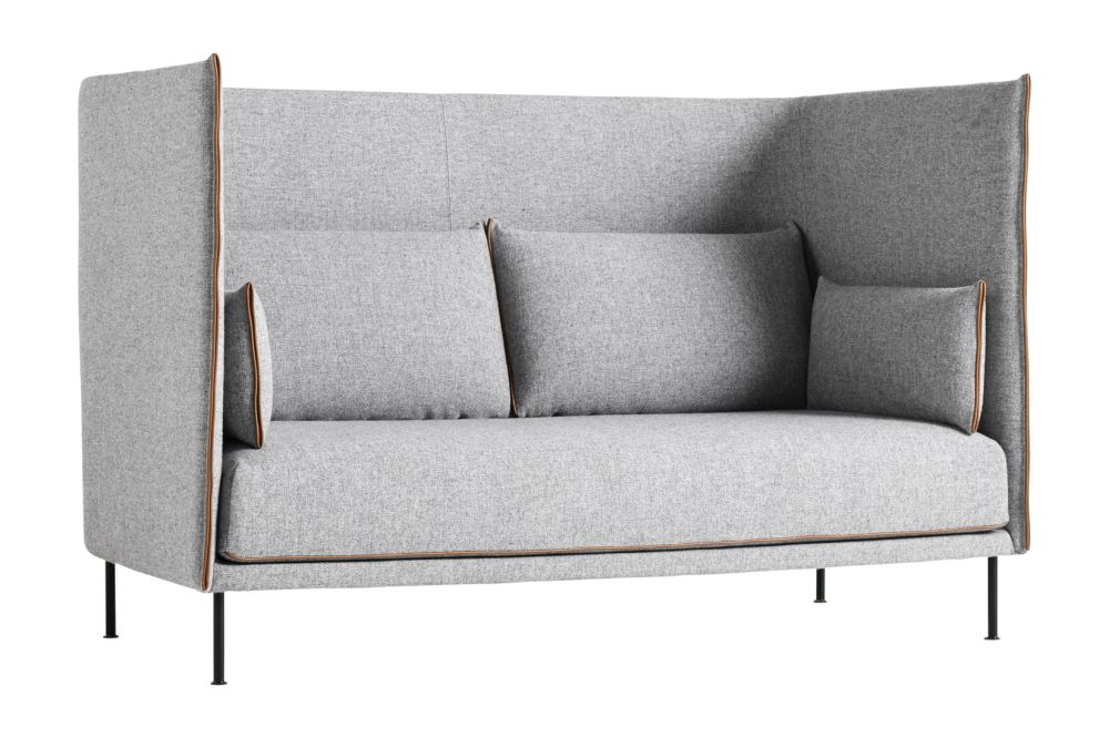 Silhouette High Backed 2 Seater Sofa by Hay