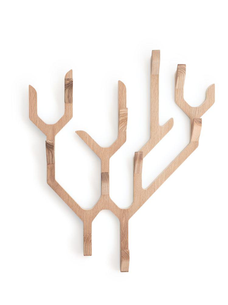 HARTÔ,Hooks & Hangers,candle holder,menorah,wood