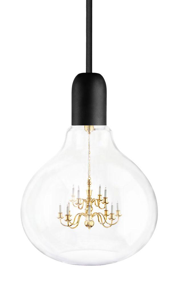 King Edison Ghost Pendant Lamp,Mineheart,Pendant Lights,ceiling,ceiling fixture,lamp,light,light fixture,lighting,lighting accessory,white
