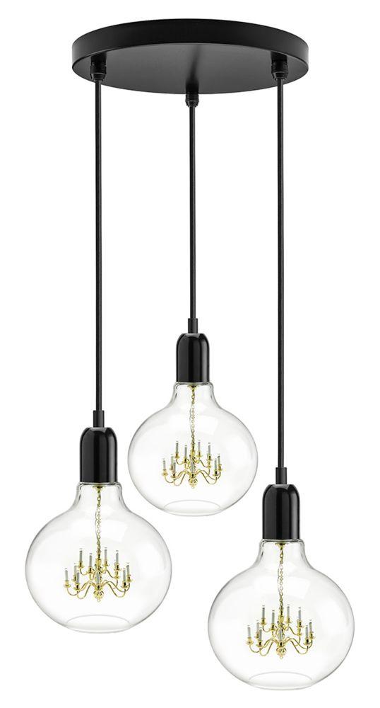 King Edison Trio Pendant Lamps by Mineheart